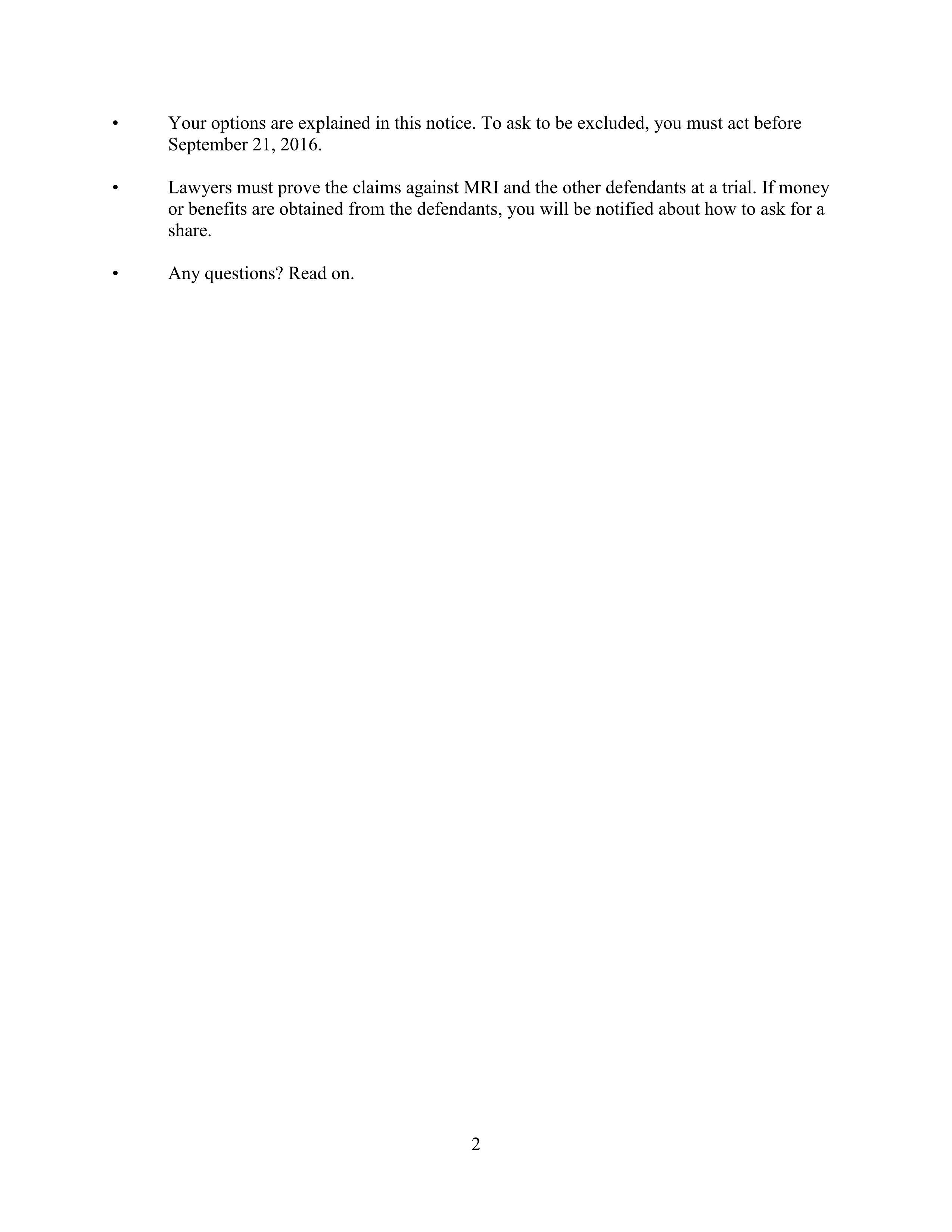 MRI Class Cert Notice_02
